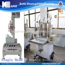 Semi automatic Oil Liquid Beverage Water Filling machine price cost