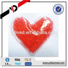Romantic heart shape beads for heating pad