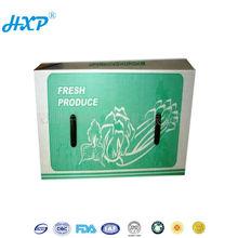 Packing box 1C 3-Layer C-Flute Flexo wax coated paper food box