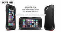 love mei taktik three anti case for iphone6 plus 5.5inch shockproof waterproof dustproof hard case