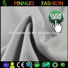 good price knit nylon net fabric dress material for sportwear