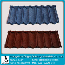 Stone coated metal roof tile / building material