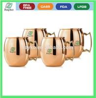 steel mule copper mug ,stainless steel brass mug