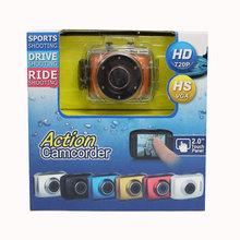 Hot sale cheap Waterproof touch LCD screen HD 720P Digital Camera