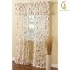 turkish style 100%polyester linen embroidered curtain designs