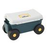 sitting on small tools, eastar Tool Cart