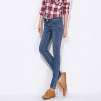 W18031 new arrival european cotton denim autumn and winter jeans