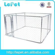 large outdoor metal lowes chain link dog pen