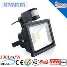 Security Light 180 Motion Sensor LED Sensor Controlled PIR Floodlight 10w 20w 30w 50w with CE SAA TUV IES