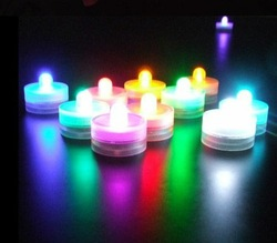 Waterproof Led Candle Vase Light Wedding Centerpieces Decoration
