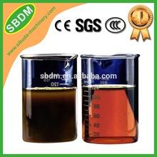 KXZ China Manufacturer Mobile Black Diesel Oil Solution for Decoloring