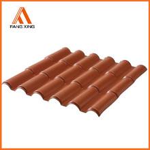 asa resin pvc terracotta synthetic sun roof for house