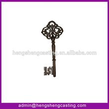 metal decoration cast iron key