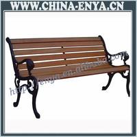 Direct Manufacturer white metal garden bench