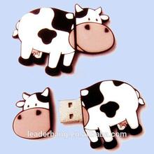 OEM COW USB flash drive, cow usb drive 8gb, cow pen drive wholesale