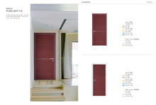 Melamine European Internal door