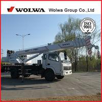 10 ton mobile crane wtih U boom and H leg !wolwa brand