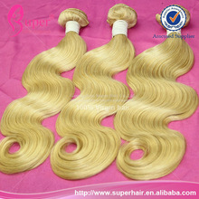 Remy hair with free shipping,rainbow weave extensions,hair extensions white blonde hair