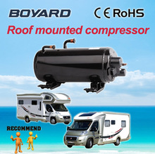portable car aircon with Lanhai CE RoHS hermetic Horizontal rotary compressor