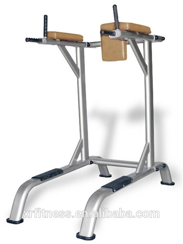 vertical leg raise machine