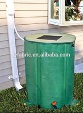PVC tarpaulin for collapsible water tank rain barrel