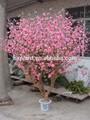 Décorative des pêchers bonsaï artificielle imitation arbre pour intérieure aménagement paysager