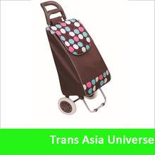Hot Selling four wheel shopping trolley bag