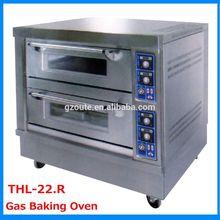 China Supplier Bakery Equipment 2 Decks 2 Trays Floor Type Gas Oven