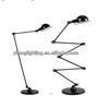 Different style handmade aluminium wire floor lamp