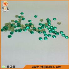 Wholesale Bright Green Round Decorative Metal Stud