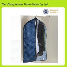Professional OEM Clear Plastic Zipper Garment Bag