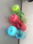 bpa free water bottle ,500ml soda bottle with straw ,plastic sport bottle