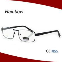 Metal optics reading glasses, copper frame optics eyeglasses