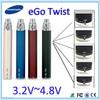 high quality ego c twist kit ego c twist e cigarette with ce4 ce5 ce6 ce7 ce8