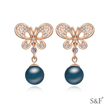 17000 new product 925 silver earrings high quality jewelry