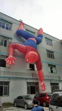 2014 New Design Event Decoration Inflatable Spiderman/ Inflatable Replica for Advertising