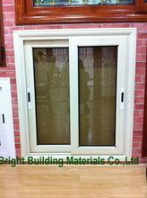 Horizontal Cheap Pvc Siding Colored Glass Window For Sale