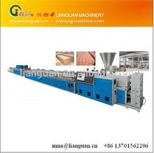 Wood Plastic profile Extrusion Line, wood plastic composite door board production line, wpc production line