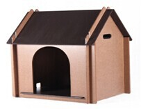 QQFactory outdoor wooden pet cage