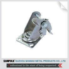 Sanmax direct sale stainless steel swivel bracket, caster yoke, caster bracket