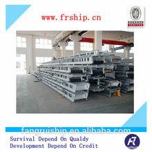 Marine Aluminium accommodation Ladder with wheels