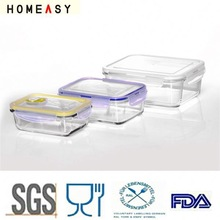 ODM OEM high borosilicate dried food container
