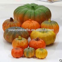 Fake pumpkin/artificial pumpkin,artificial fruit for home decoration ,artificial vegetable for party decoration