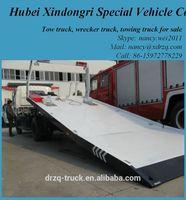Dongfeng tow truck under lift wrecker truck