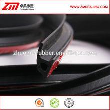 self adhesive EPDM rubber windshield gasket