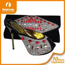 Costume design shanghai bestway italian matching shoes and bags ladies