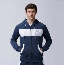 OEM Men long sleeve fleece gym hoodies with your own design
