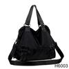 H6003 Pure leather handbags trend leather handbag Black patent leather handbag