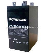 2V 500AH VRLA battery for UPS/Inverter , Lead acid Battery,Rechargeable Battery