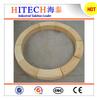 Thermal shock resistant and low creep high alumina bricks